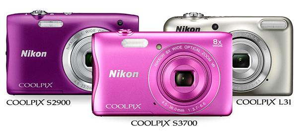 Coolpix, Nikon, S3700, S2900, L31