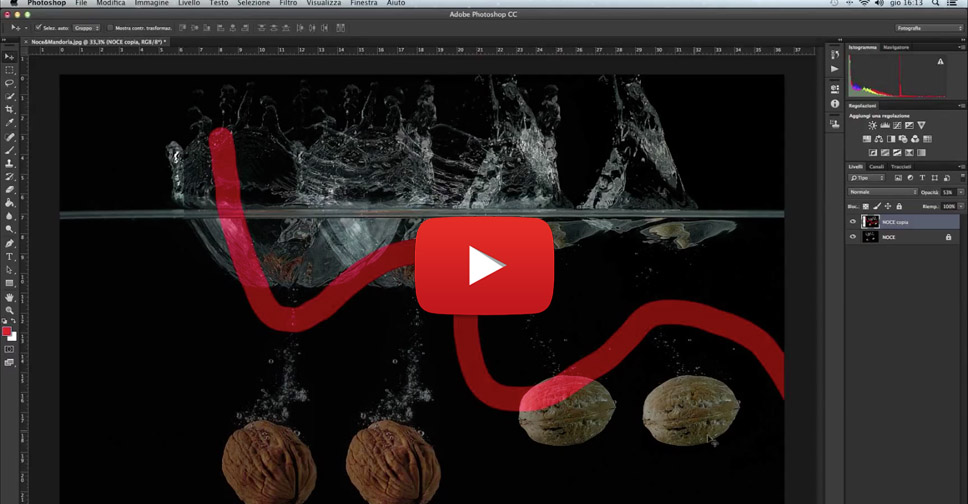 Livelli di Photoshop, tutorial Photoshop, fotoritocco