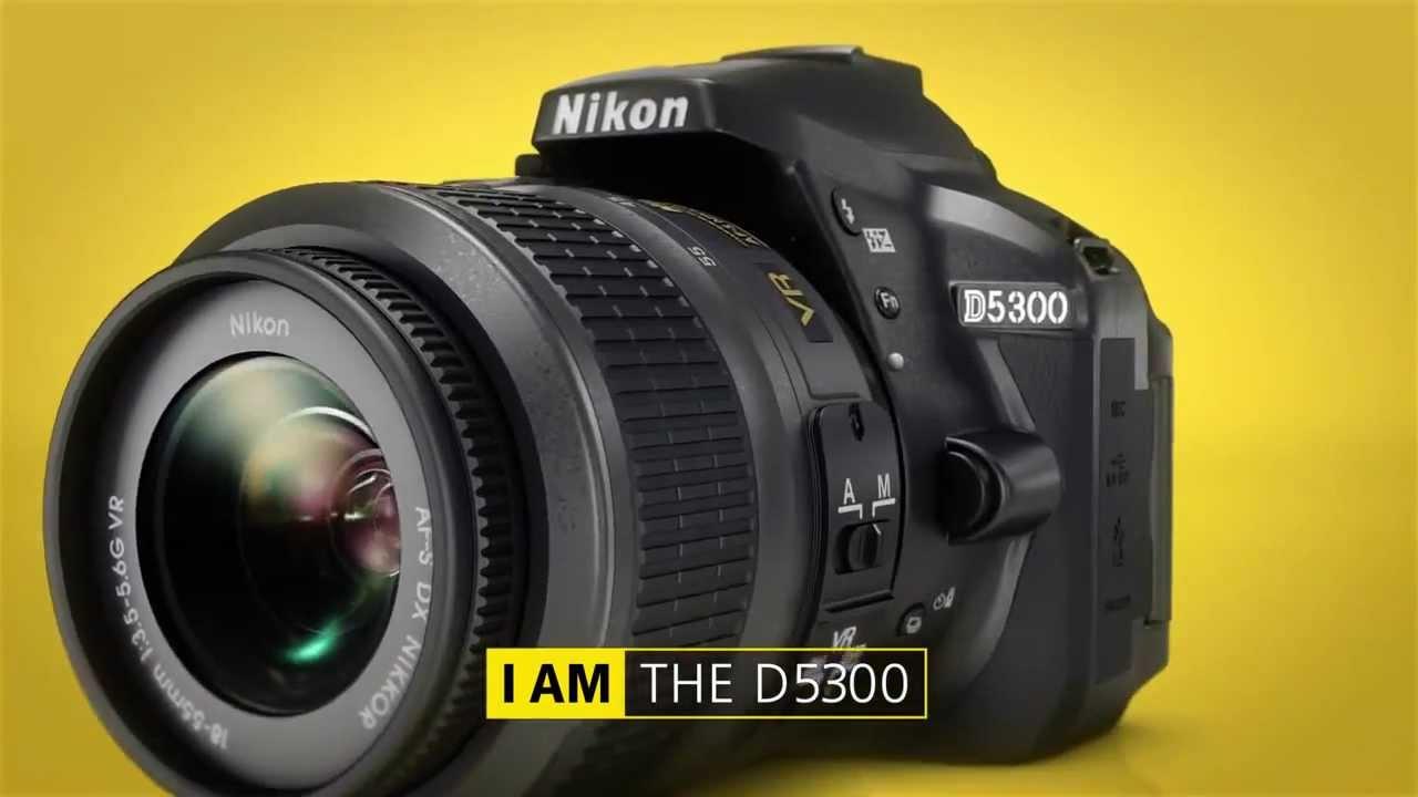 Nikon D5300, Reflex, Schermo Touchscreen, AF, EXPEED