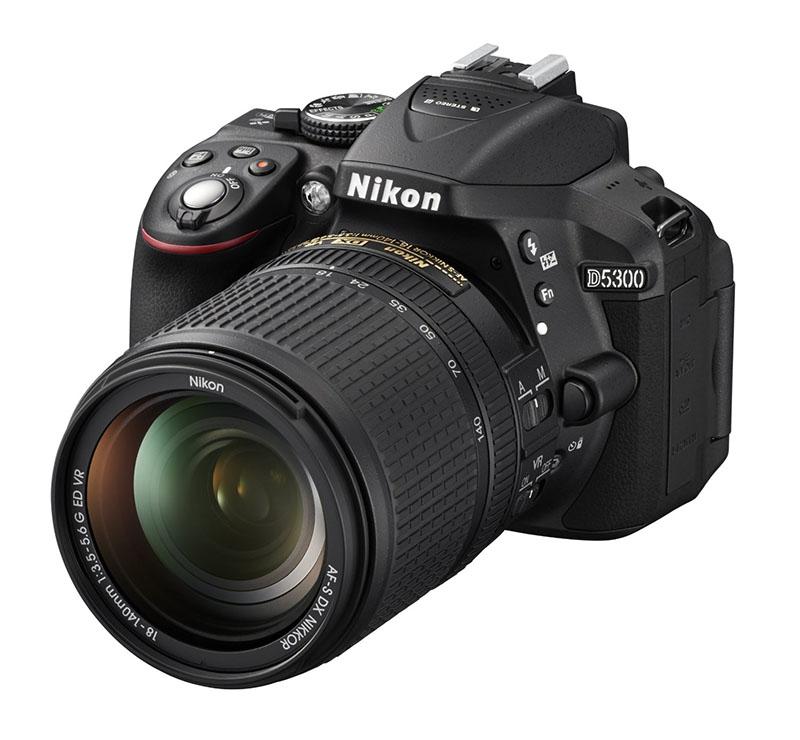 Nikon D5300, Reflex, Schermo Touchscreen, AF, EXPEED,5