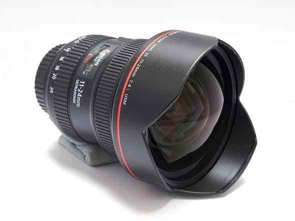Canon EF 11-24mm f:4 L USM, obiettivo, Grandangolo