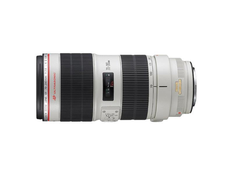 Canon EF 70-200mm, USM lato