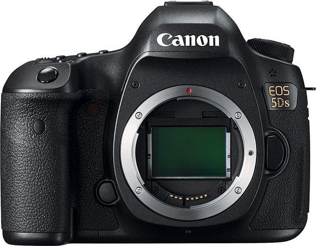 Canon EOS 5DS, Front