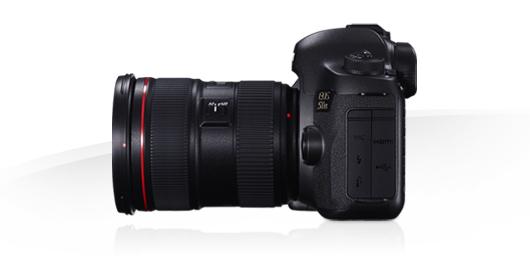 Canon EOS 5DS, lato