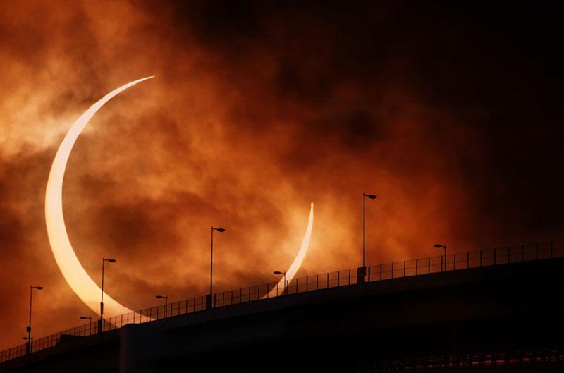 Come fotografare una eclissi solare, tecnica fotografica
