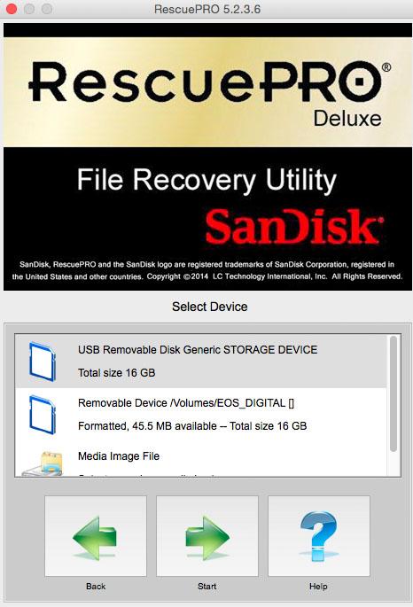 Come recuperare dati persi dalle Memory card, esempio, 2