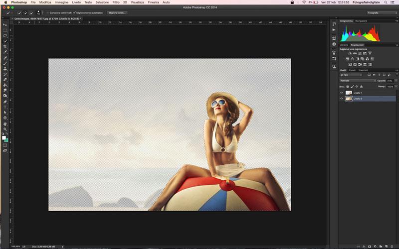 Come scontornare una foto, tutorial photoshop, fotoritocco, scontornare una foto con photoshop