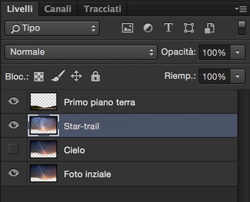 Creative Trail UI, Script, livelli