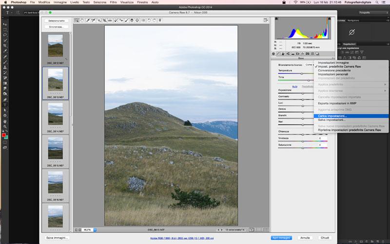 Foto panoramiche, Tecnica fotografica, Esempio, salvataggio, 2