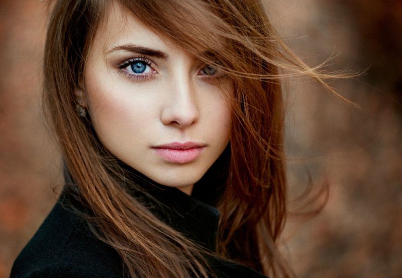 Fotografia di ritratto, primo piano, donna, occhi, messa a fuoco, tecnica fotografica, consigli fotografici, portrait