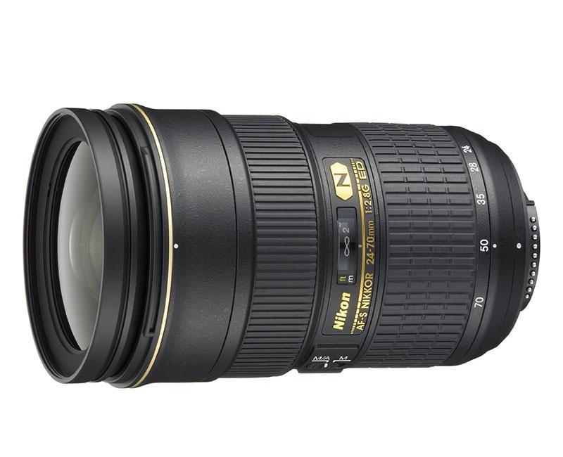 Nikko 24-70mm, obiettivo, Nikon