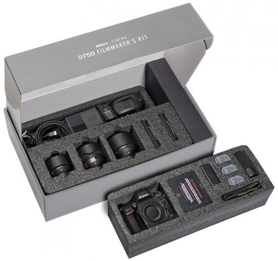 Nikon D750 Kit, Rumors, videomaker, scatola