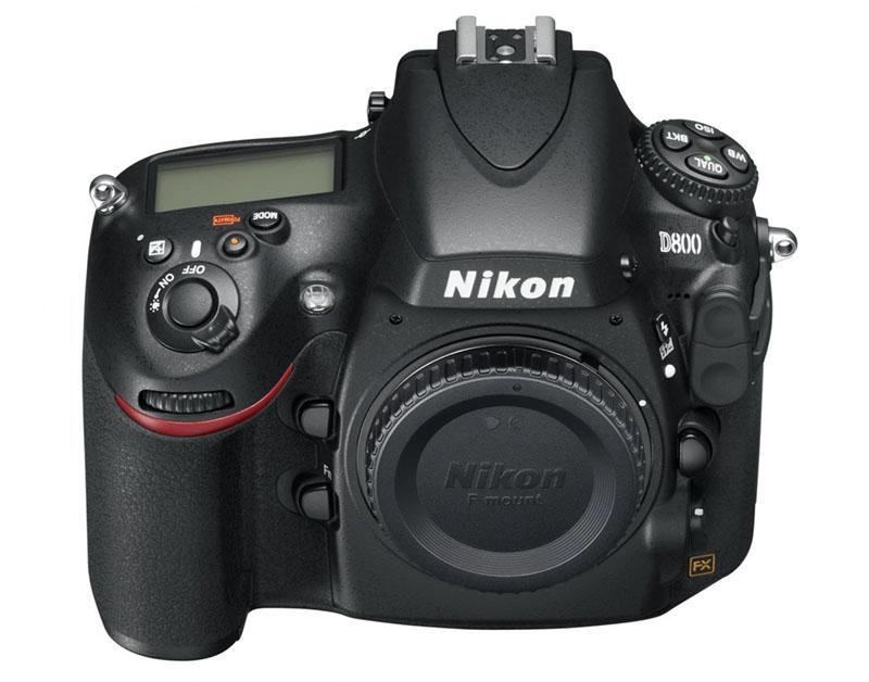 Nikon D800, D800E, Full-frame, front