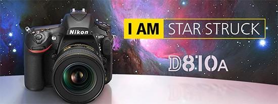 Nikon D810A, Notizie