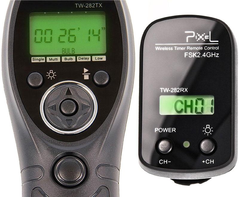Pixe TW-282, scatto remoto, wireless, 2