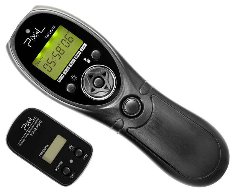 Pixe TW-282, scatto remoto, wireless, 4