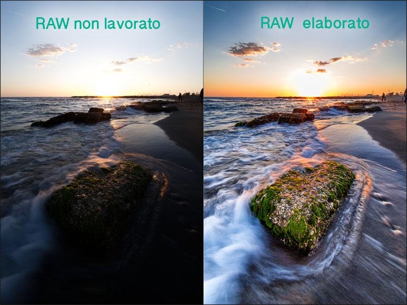 RAW o JPG, scuola fotografia, tecnica fotografica, RAW, elaborato