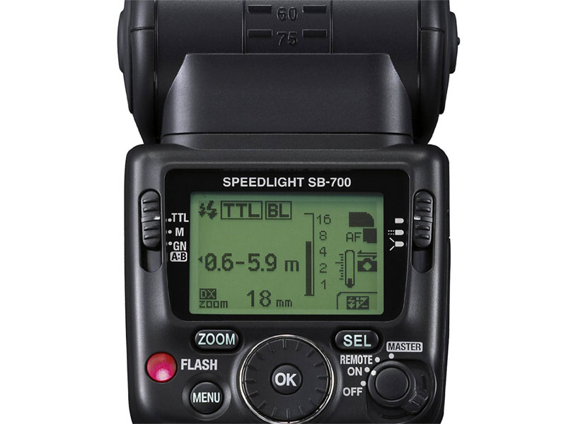Speedlite SB-700, Flash, Nikon copia