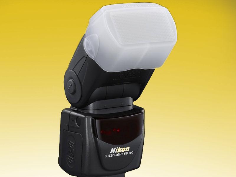 Speedlite SB-700, Flash, Nikon, front, diffusore