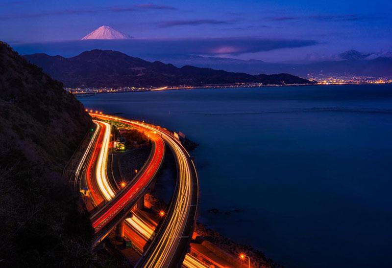Come fotografare le scie luminose
