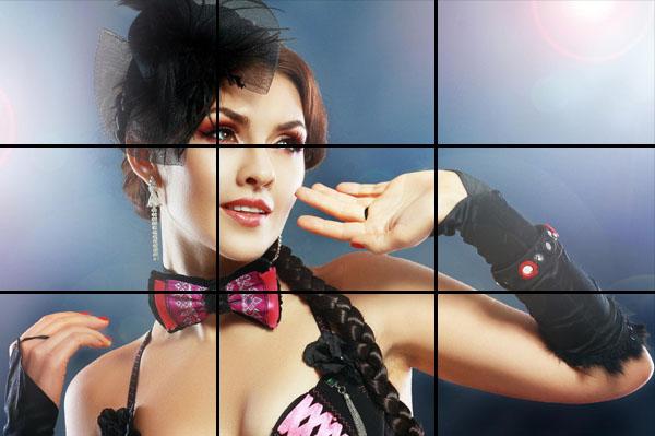 fotografia di ritratto, regola dei terzi, tecnica fotografica