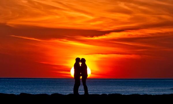 Come fotografare un tramonto, silhouette, tecnica fotografica, 1