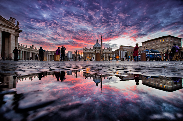Come fotografare un tramonto, silhouette, tecnica fotografica, Atteggiamenti tipici del fotografo pigro