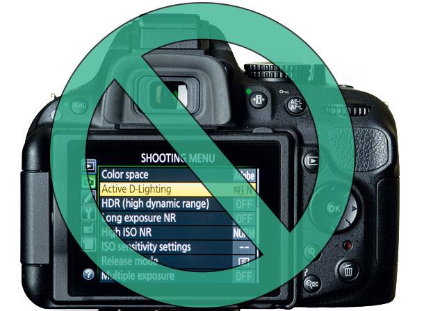 Fotografia HDR, tecnica fotografica, cavalletto, impostazioni, d-lighting