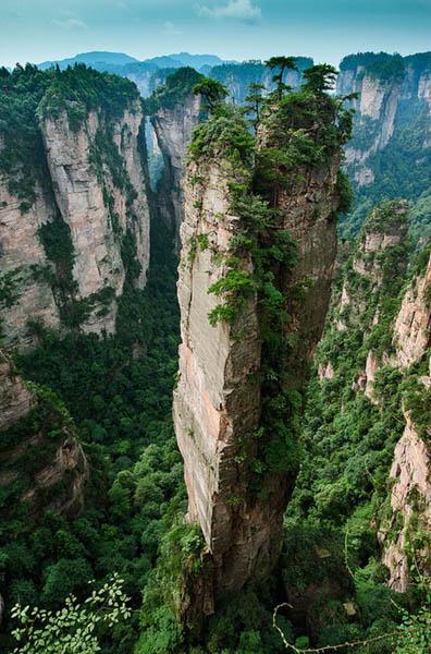 Split Pinnacle Hunan - China, luoghi più belli e mozzafiato del mondo