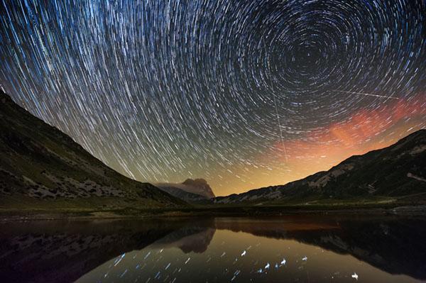 Workshop Mountain Landscape, Gran Sasso, fotografia di paesaggio, fotografia notturna, star trail