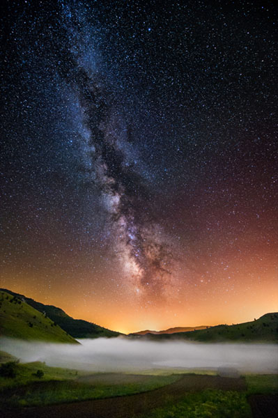 Workshop Mountain Landscape, Gran Sasso, fotografia di paesaggio, fotografia notturna