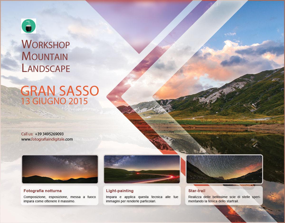 Workshop Mountain Landscape, Gran Sasso