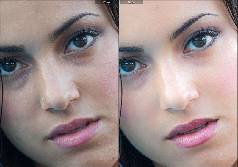 levigare la pelle di un ritratto, tutorial Lightroom, Lightroom CC, fotoritocco