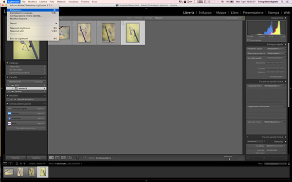 velocizzare Lightroom, tutorial lightoroom