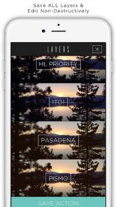 Faded photo editor, filtri fotografici