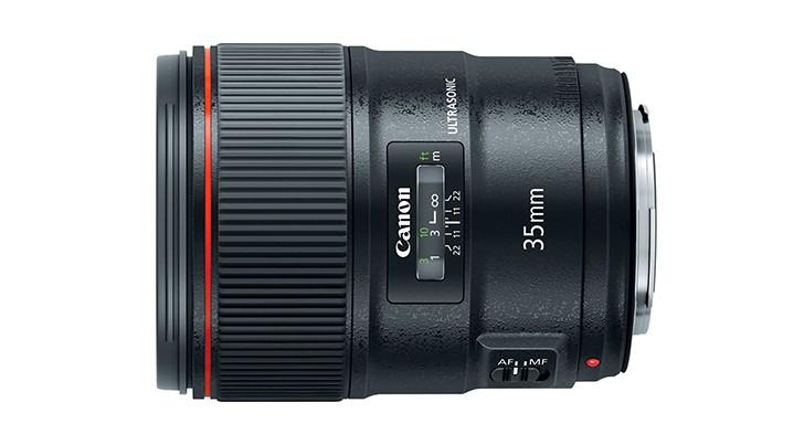 Canon EF 35mm, novità