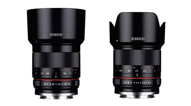 Rokinon 50mm f1.2, Rokinon 21mm f1.4, novità