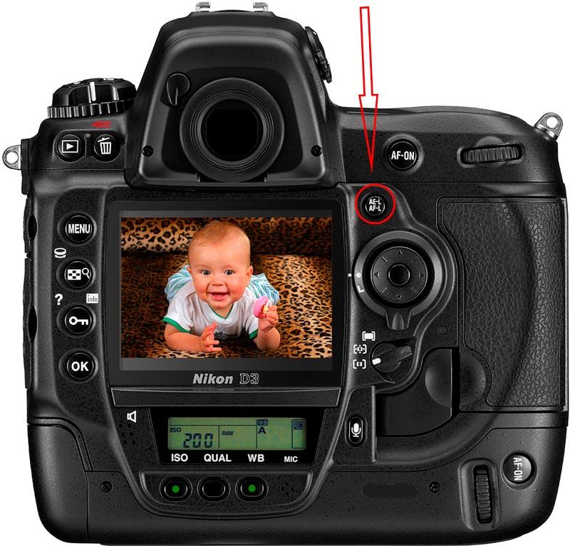 tasto AE-L/AF-L, tecnica fotografica, scuola di fotografia, blocco esposizione