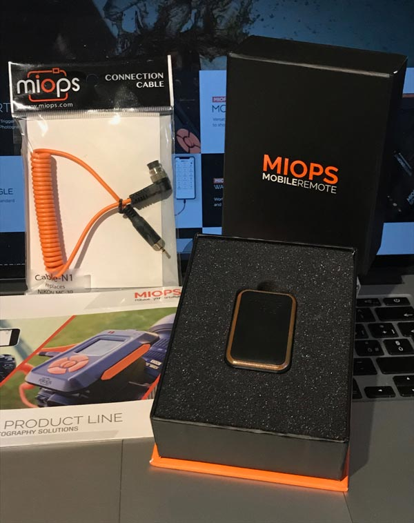 MIOPS, miops mobile remote, telecomando smartphone reflex, controllo remoto
