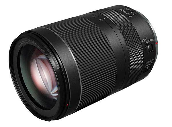 Canon RF 24-240mm f4-6.4 IS, obiettivo mirrorless